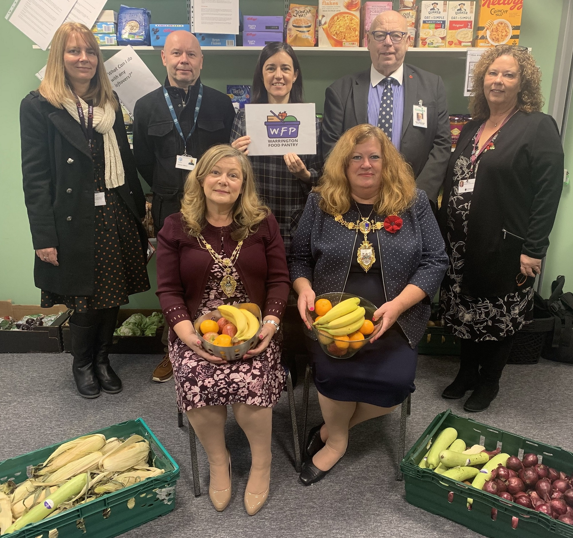 Council Launches Food Pantry For Residents Warringtongovuk
