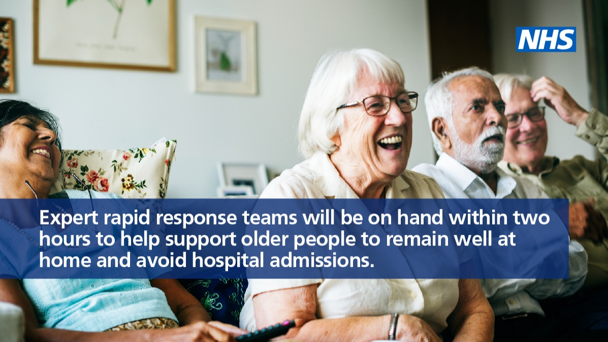 Expert rapid response teams supporting older people at home