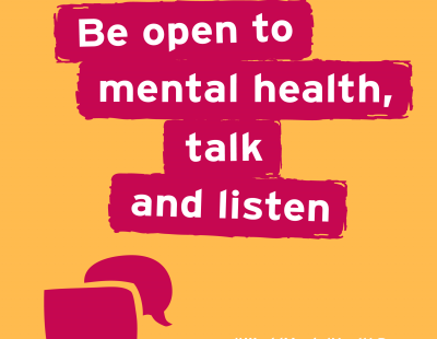 Be open to mental health